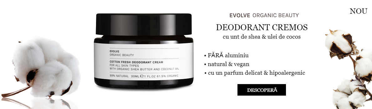 DEODORANT CREMOS EVOLVE BEAUTY