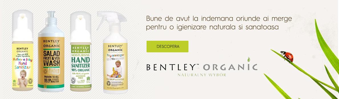 Noile produse bio Bentley Organic